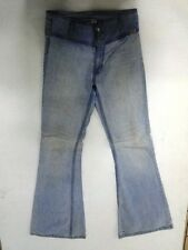 Miss Sixty Basic Jeans Hose Schlaghose Hellblau Stonewashed W27 L32