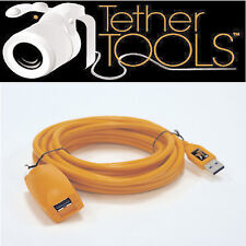 Tether Tools CU3017 Active Extension USB 3.0 Cable,16ft. Hi-Vis Orange.