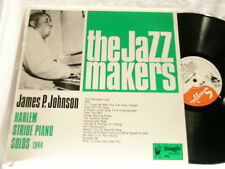 JAMES P JOHNSON Harlem Stride Piano Solos 1944 Swaggie LP