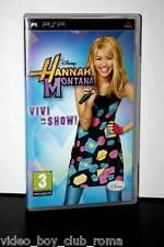 HANNAH MONTANA VIVI LO SHOW! GIOCO USATO OTTIMO STATO SONY PSP ED ITALIANA MC2