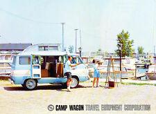 1966 Dodge Camp Wagon Travel Van Camper Truck Dealer 1-page Brochure Fact Sheet