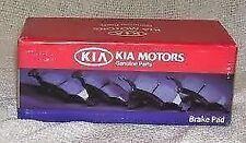 Genuine Kia Niro Front Brake Pads 2016-  58101-G2A10
