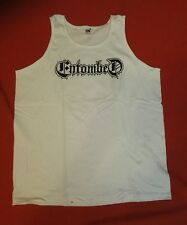 ENTOMBED Tanktop Shirt Größe XXL weiß / NEU