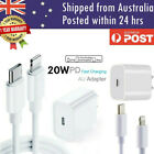 20W USB Type-C Wall Adapter Fast Charger PD Power For iPhone 13 12 Pro Max iPad