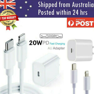 20W USB Type-C Wall Adapter Fast Charger PD Power For iPhone 12 11 Pro Max iPad