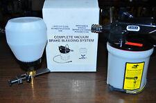 VACULA 18-9961 BRAKE FLUID VACUUM BLEEDER WITH REFILL BOTTLE MADE IN SWISS