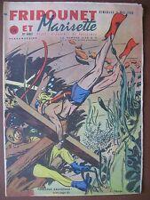 FRIPOUNET ET MARISETTE 1960  n°19  Paquebot France
