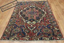 VECCHIO Fatto A Mano Lana Persiano Orientale Tappeto Runner di superficie floreale Tappeto 187 x 120 cm