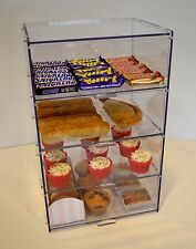 Food Safe Bakery Pastry Display Case Stand Cabinet Cakes  Cupcakes - Four Tiers