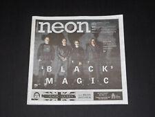 Neon Magazine Weezer Las Vegas Concert Preview Apri 2019 Issue New Rare!