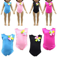 Swimsuit Clothes For 18 Inch Doll Summer Handmade Children Kids .AU TOP