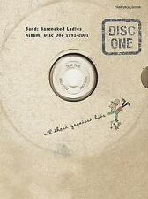Disc One 1991-2001 Greatest Hits by Barenaked Ladies Songbook Sheet Music Song
