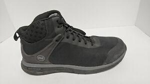 Timberland PRO Drivetrain Composite Toe Boots, Black, Men's 11.5 M