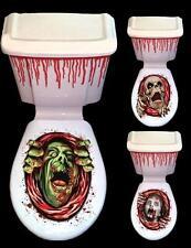 Halloween Decoración toilet & Cisterna Horror Decoración Tres Diseños Nuevos