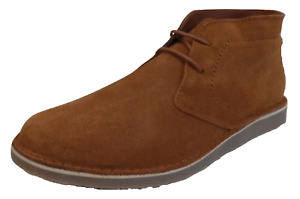 Delicious Junction Gary Crowley Ginger Tan Suede Desert Boots …