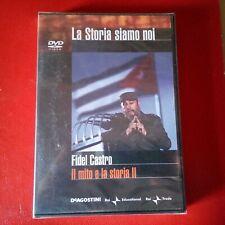 DVD La Storia siamo noi DeAgostini Fidel Castro Nuovo Blisterato