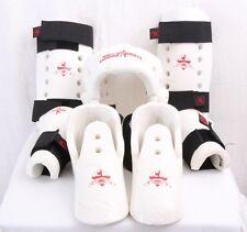 Macho Martial Arts World Champion Karate Foam Head Hand Feet Shin Pads Adult S
