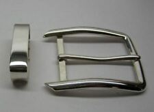 "Sterling silver 925 solid loop only for 1.5"" belt made in USA"