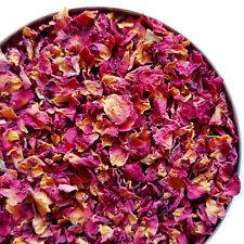Dried Rose Petals, Biodegradable Wedding Confetti, Craft, Bath Bomb, Real Petals