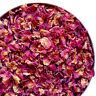 Dried Rose Petals, Biodegradable Wedding Confetti, Craft, Bath Bomb, Real Petals