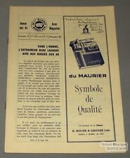 1962-63 AHL Quebec Aces official Program