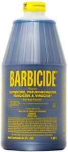 BARBICIDE Disinfectant Solution | Germicide, Virucide | AntiRust Formula | 1.89L