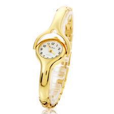 New Stylish Women Lady Dress Bracelet Stainless Steel Chain Digital Wrist Watch