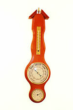 NEW Wooden Weather Station, BAROMETER, THERMOMETER & HYGROMETER 97736 1.2K