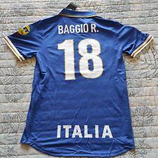 Maglia Casa Italia Euro 1996 - Retro Vintage Calcio Italy Roberto Baggio Tg M-L