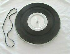 Original Panasonic SG-1110 Turntable Platter & Platter Mat & Drive Belt