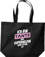 große Einkaufstasche, Ich bin Tante weil Superheldin keine Option ist,