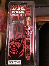 Star Wars Darth Maul Digital Flip Top Watch-ideales Geschenk