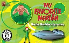MY FAVOURITE MARTIAN: UNCLE MARTIAN & SPACESHIP 1:18 MODEL KIT MADE BY PEGASUS