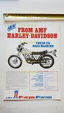 Harley-Davidson SS 125-175-250 1974 depliant FRANCESE originale brochure FRENCH