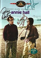 Woody Allen, Tony Roberts & Carol Kane signed Annie Hall DVD - Brand New - Proof