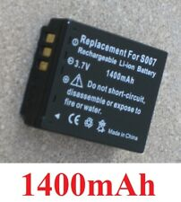 Batterie 1400mAh type S007A S007E DMW-BCD10  Pour Panasonic Lumix DMC-TZ5