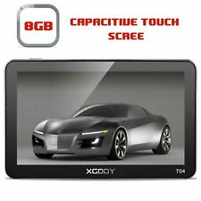 XGODY 7'' GPS Navigation System for Car Truck HGV Speedcam Capacitive Touch 704F