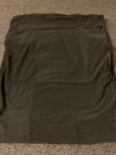 Nautica Ribbed Hunter Green Duvet Cover Blanket Twin