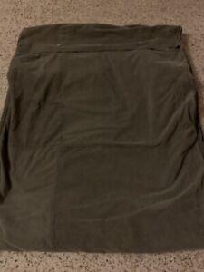 Nautica Ribbed Hunter Green Duvet Cover Blanket Twin