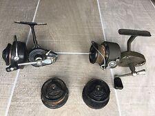 Mitchell 300 & Garcia Mitchell 324 reels plus Bobines tous pour pièces ou réparation