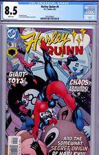 Harley Quinn # 5 CGC 8.5 VFine  4/01 1st Series.