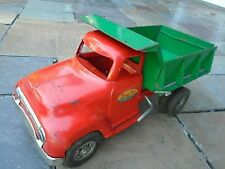1955 One Owner TONKA pressed steel Dump truck -very fine condition