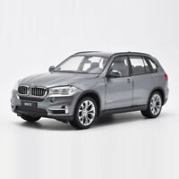 BMW X5 SUV 1:24 Scale Model Car Metal Diecast Toy Collection Kids Gift Gray
