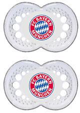 FC Bayern München Schnuller Silikon 0-6 Monate