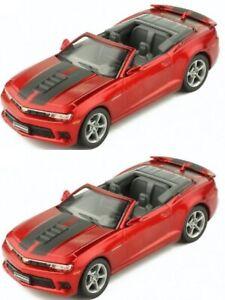 1/43 Ixo chevrolet camaro cabriolet 2014 rouge neuf boite livraison domicile