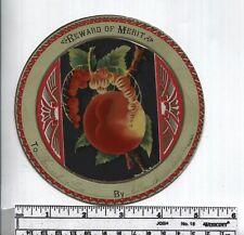 Reward of Merit - Mid 1800s -  Rare ADD-ON Card - 3 add-ons