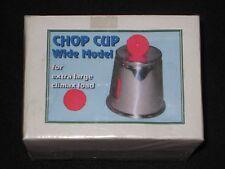Chop Chop Cup Wide Model - Classic Close-Up Magic Trick, Street Magic or Stage