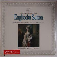 BACH: English SuitesDreyfus, Cembalo ARCHIV Germany SEALED Vinyl LP violin