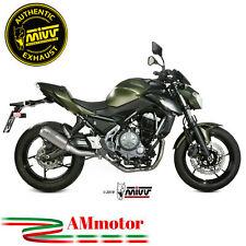 Scarico Completo Mivv Kawasaki Z 650 2017 17 Terminale MK3 Inox Per Moto