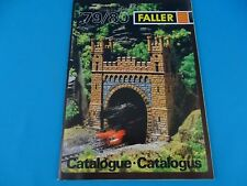 Faller Katalog Catalog 1979-80 NL-F-GB